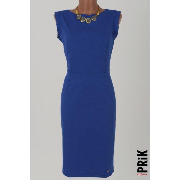 PRiK poslovna haljina plava