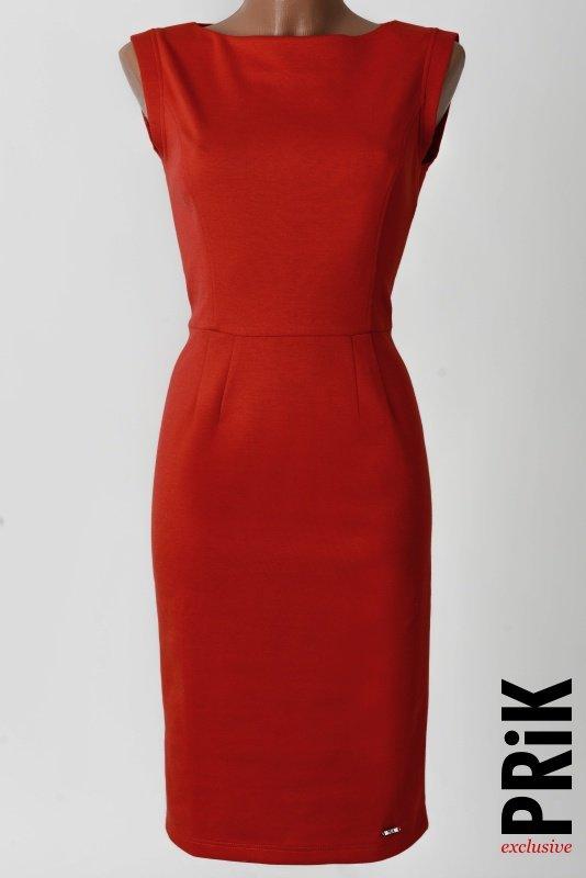 PRiK poslovna haljina crvena