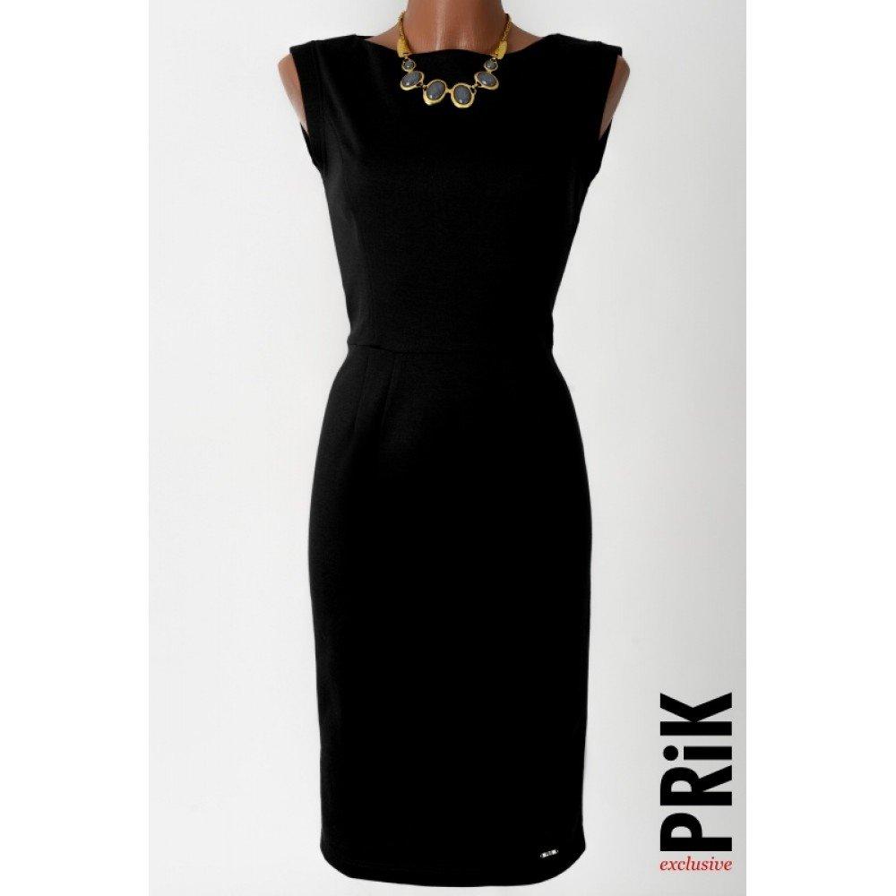 PRiK poslovna haljina crna