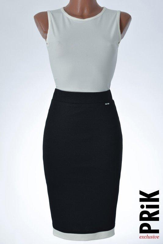 PRiK crno-bela suknja