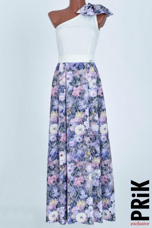 PRiK duga haljina sa cvetićima