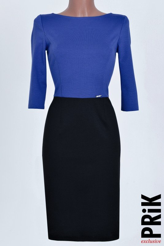 PRiK crno-plava haljina