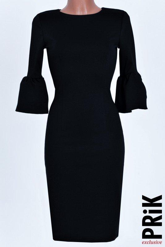PRiK crna haljina zvončići