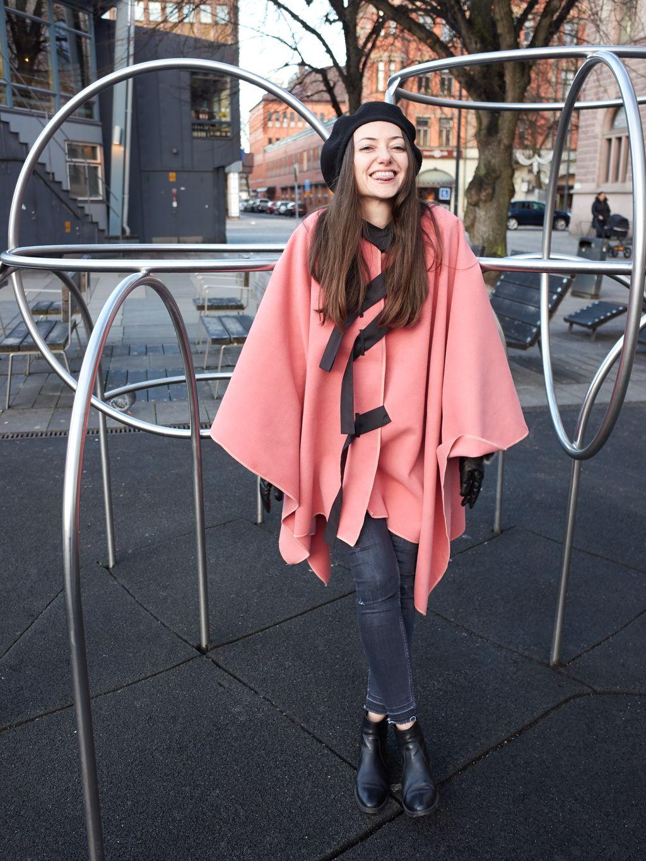 PRiK roza pelerina