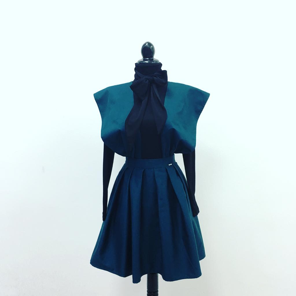 PRiK pamučna suknja sa tregerima 4307