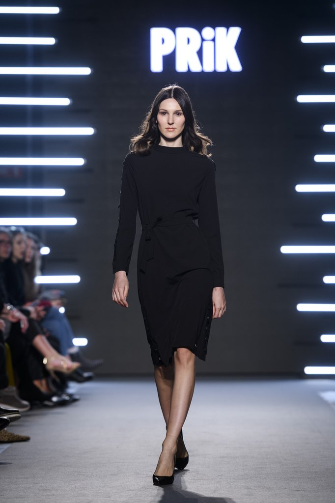 PRiK crna kratka haljina SS18
