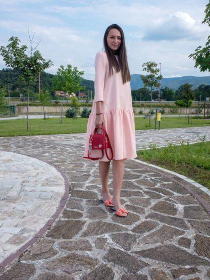 PRiK Haljina 4323 - roza