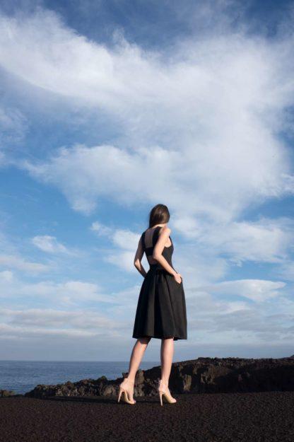 PRiK crna haljina 4327