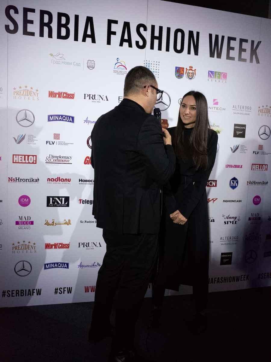 Dušica Županjac, PRiK, intervju SS19 Serbia Fashion Week