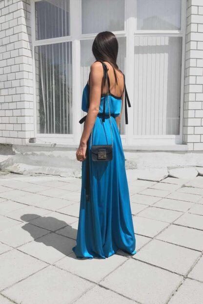 PRiK tirkizna haljina SS19