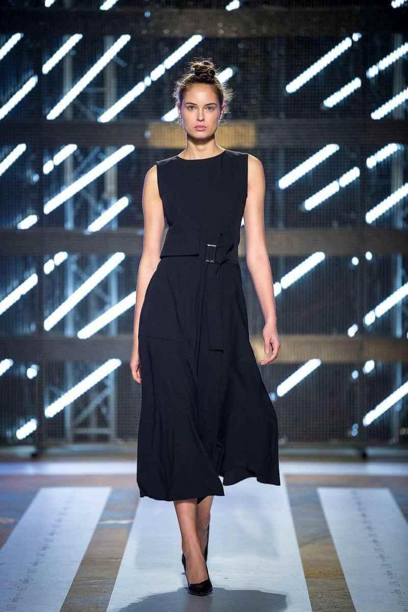 PRiK Crna haljina, AW18, LJFW