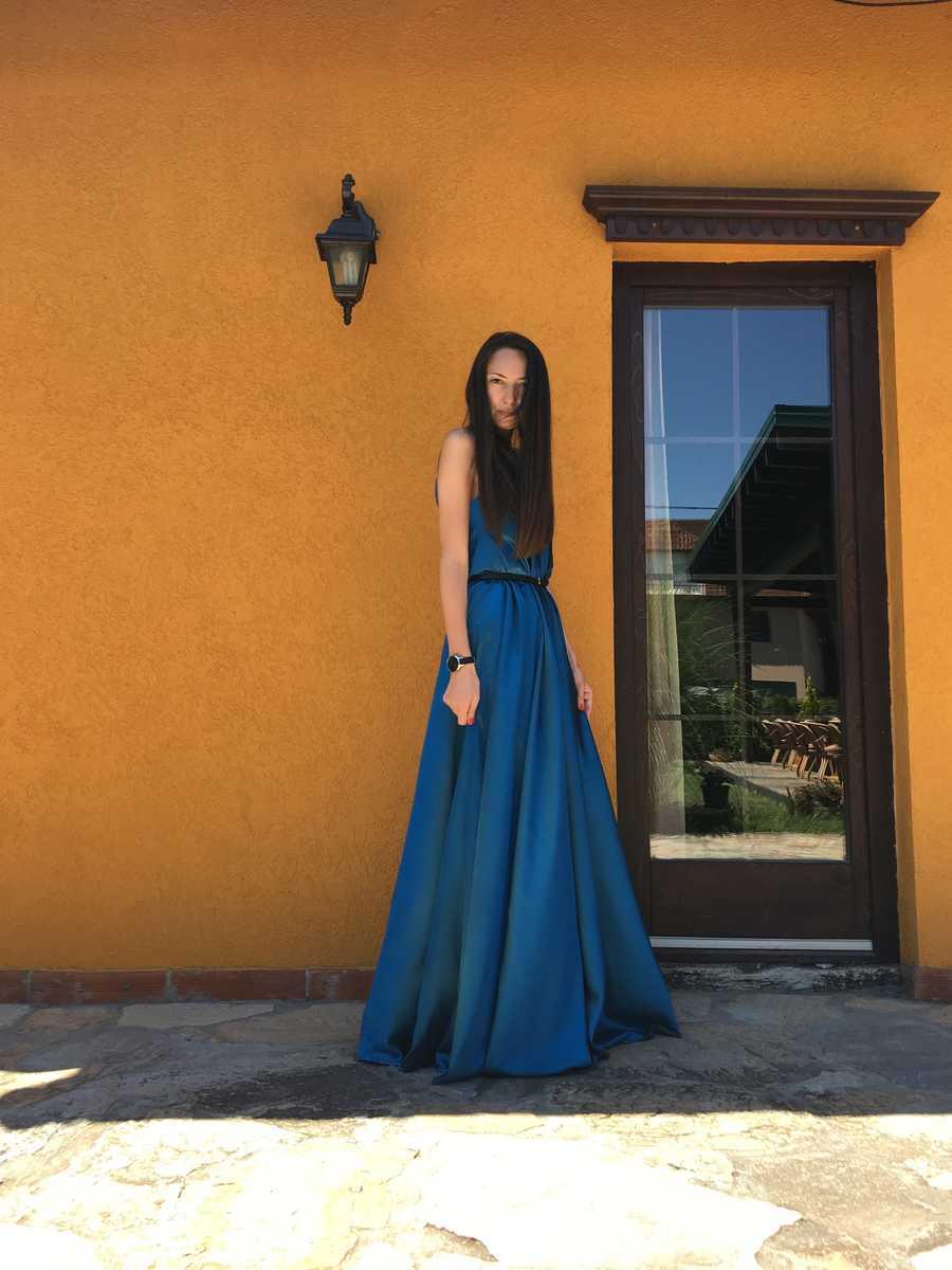 PRiK petrolej haljina