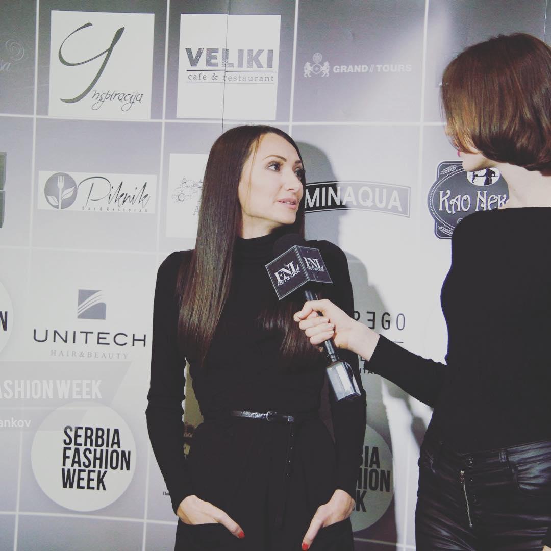 Crna PRiK rolka Serbia Fashion Week