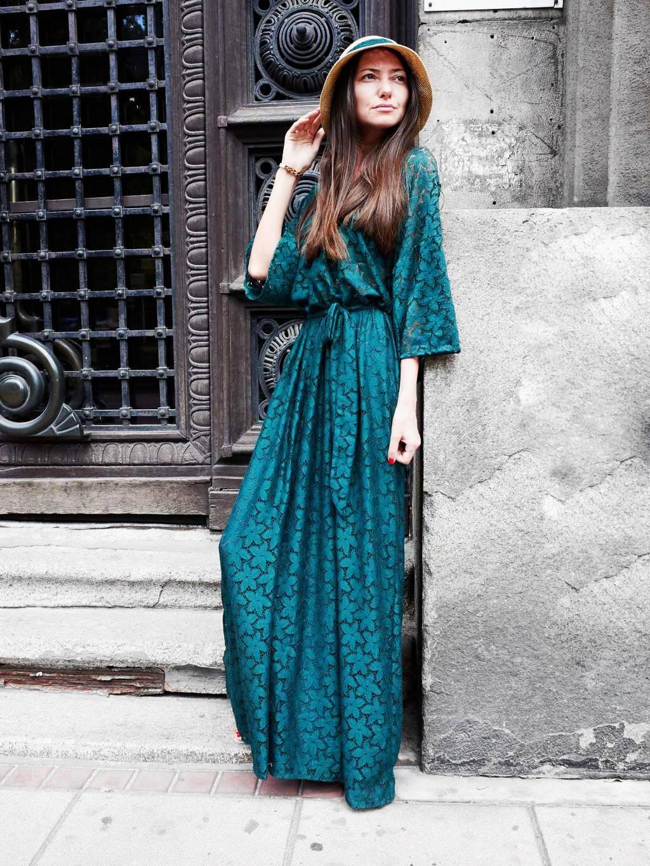 PRiK Zelena haljina
