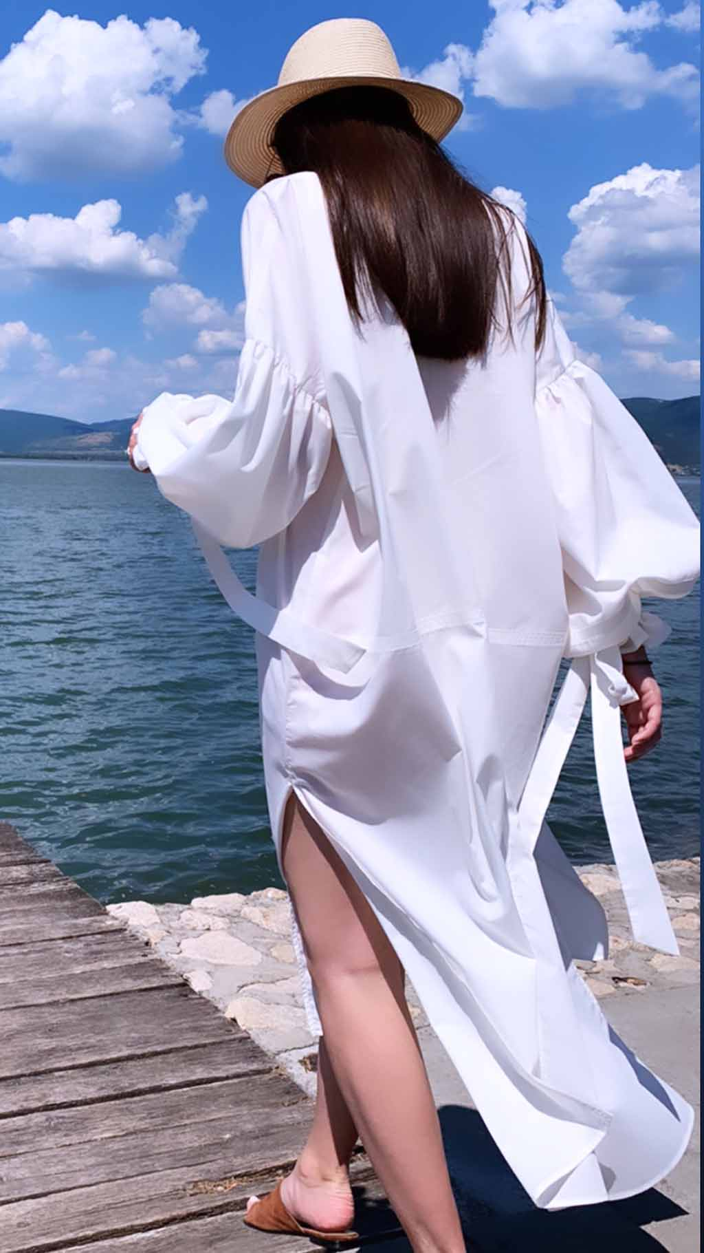 PRiK bela haljina